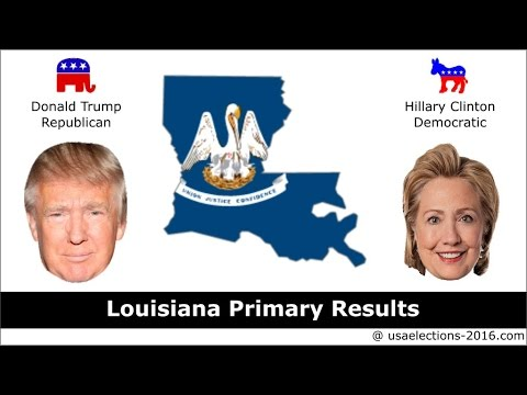 Louisiana Primary Result 2016 : US Election 2016