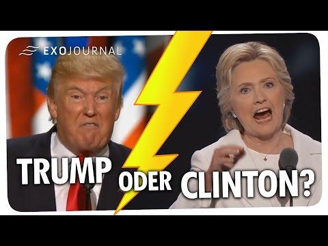 Trump oder Clinton? Ein Hellseher verrät, wer der nächste US-Präsident wird | ExoJournal