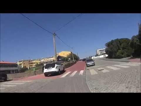 Passeio desde a praia de Valadares até afurada em vila nova de Gaia de bicicleta junto ao mar