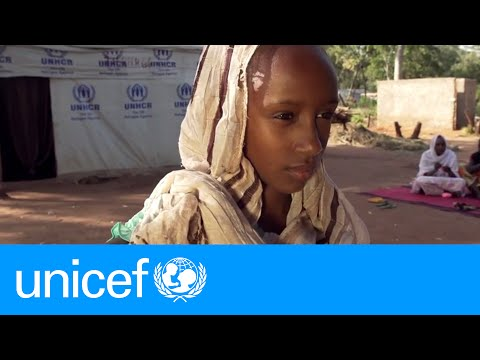 Fleeing Central African Republic: Assia's Story   UNICEF