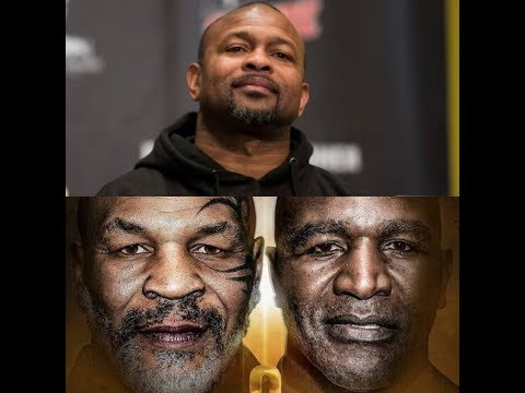 WOW!!! ROY JONES JR SAYS HE'S WILLING TO FIGHT MIKE TYSON OR EVANDER HOLYFIELD