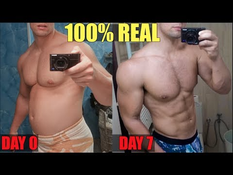 how to lose stomach fat in a week youtube