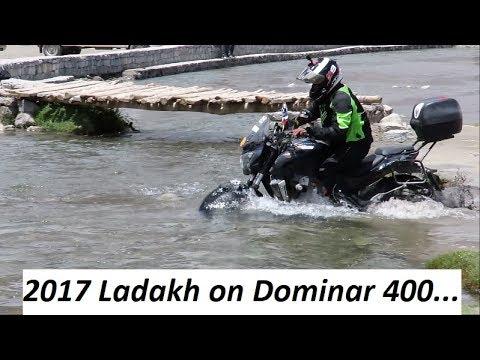 2017 Ladakh on Dominar 400. Drone Shots. Trailer Video.