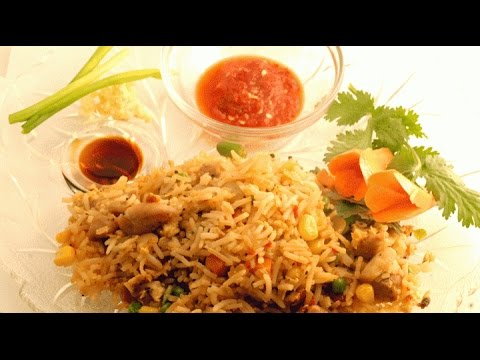 Chicken fried rice in hindi youtube chicken fried rice in hindi ccuart Images