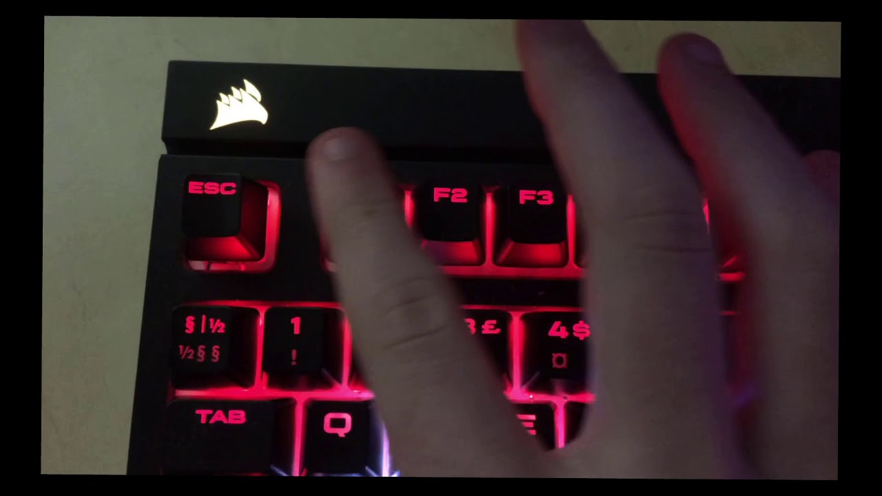 How to fix scroll lock blinking corsair strafe keyboards