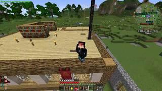 Minecraft Техно-магия| Обзор моего мира Часть 2.