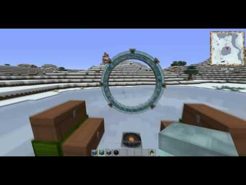 Atlantis Stargate Mod: Minecraft Stargate Mod Review!