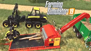 #72 - MOD CIPPATRICE + MOD DEPOSITO CIPPATO E ALTRO -  FARMING SIMULATOR 19 ITA RUSTIC ACRES