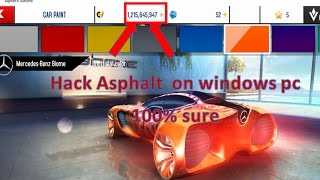 How to hack Asphalt 8 on Windows 10,8.1,8 (100% working) | 2017