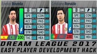 dream league soccer 2017 player development hack {must read description}
