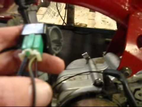 hqdefault how to fix no spark and wire pit bike youtube  at n-0.co