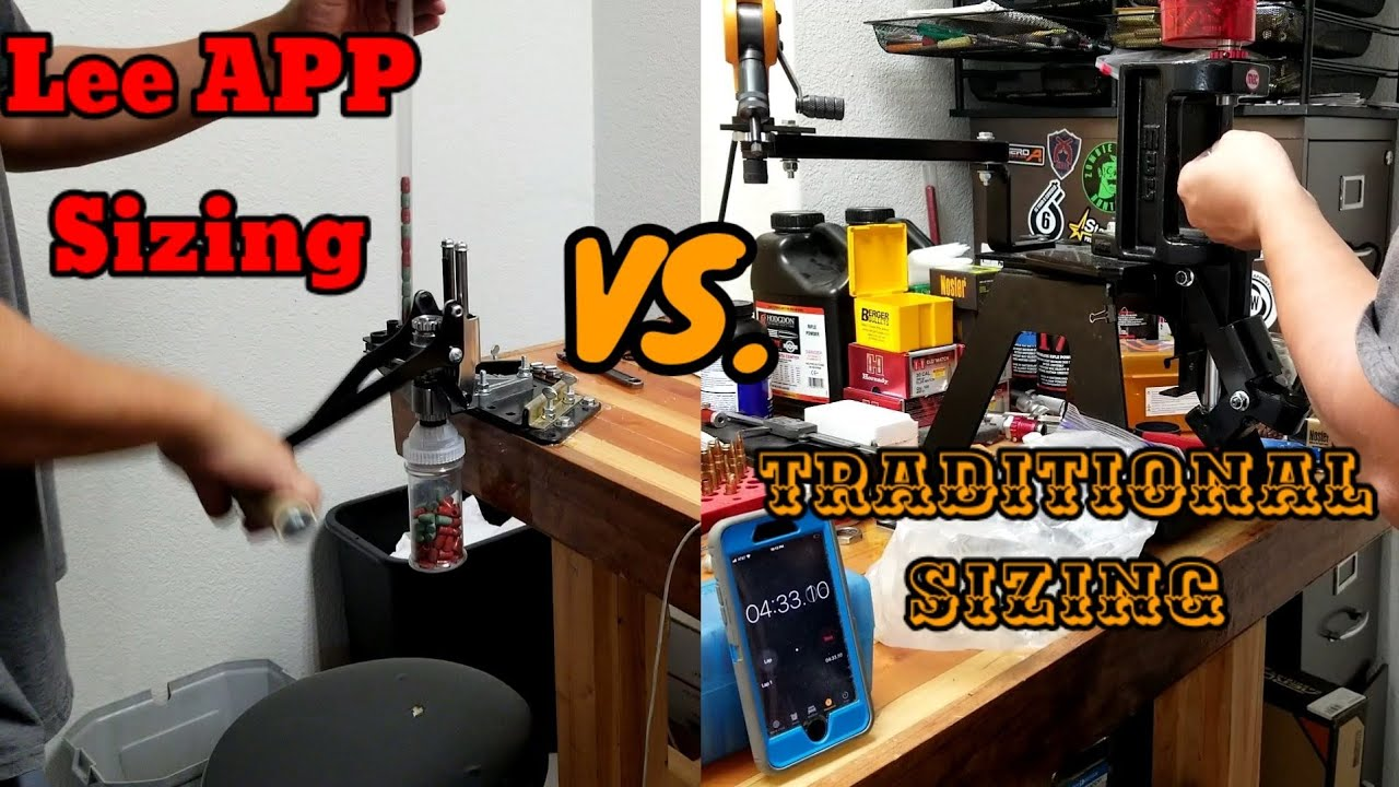 Lee APP Sizing vs Old way | Is the Lee APP that much faster? VR to PC Bullet Empire