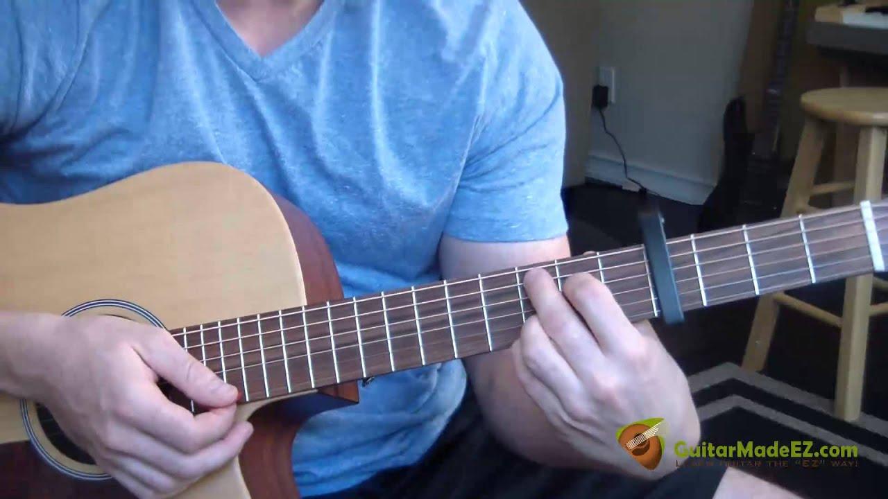 John Cougar Mellencamp Small Town Guitar Lesson The Entire Song