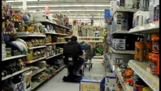 Wal-mart Wheel Chair Fun (jakes)