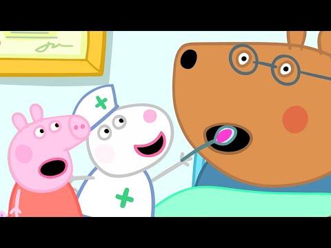 小猪佩奇 | 第三季 第03集 「 佩德罗咳嗽了 」 粉红猪小妹 | 佩佩猪 |Peppa Pig Chinese |动画