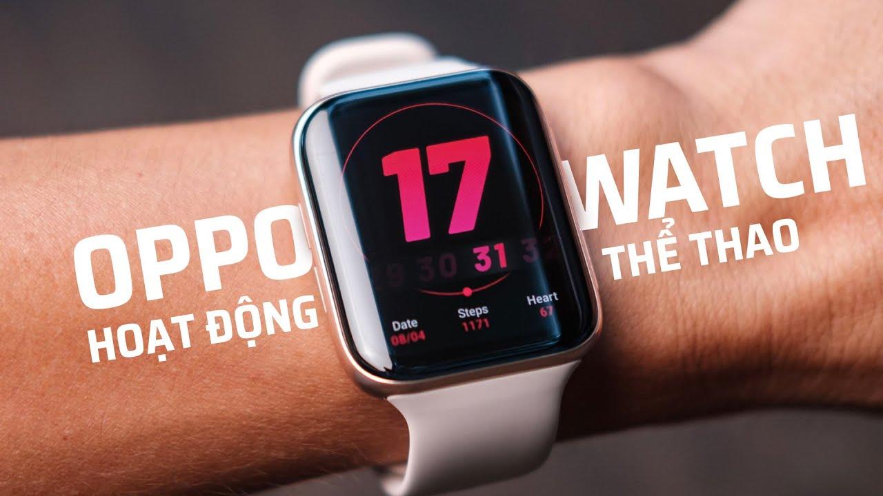 Các tính năng thể thao và chăm sóc sức khỏe trên Oppo Watch