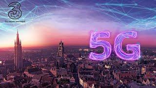 5G Будущее уже здесь. Three - мобильная сеть. Самая креативная реклама мобильной сети.