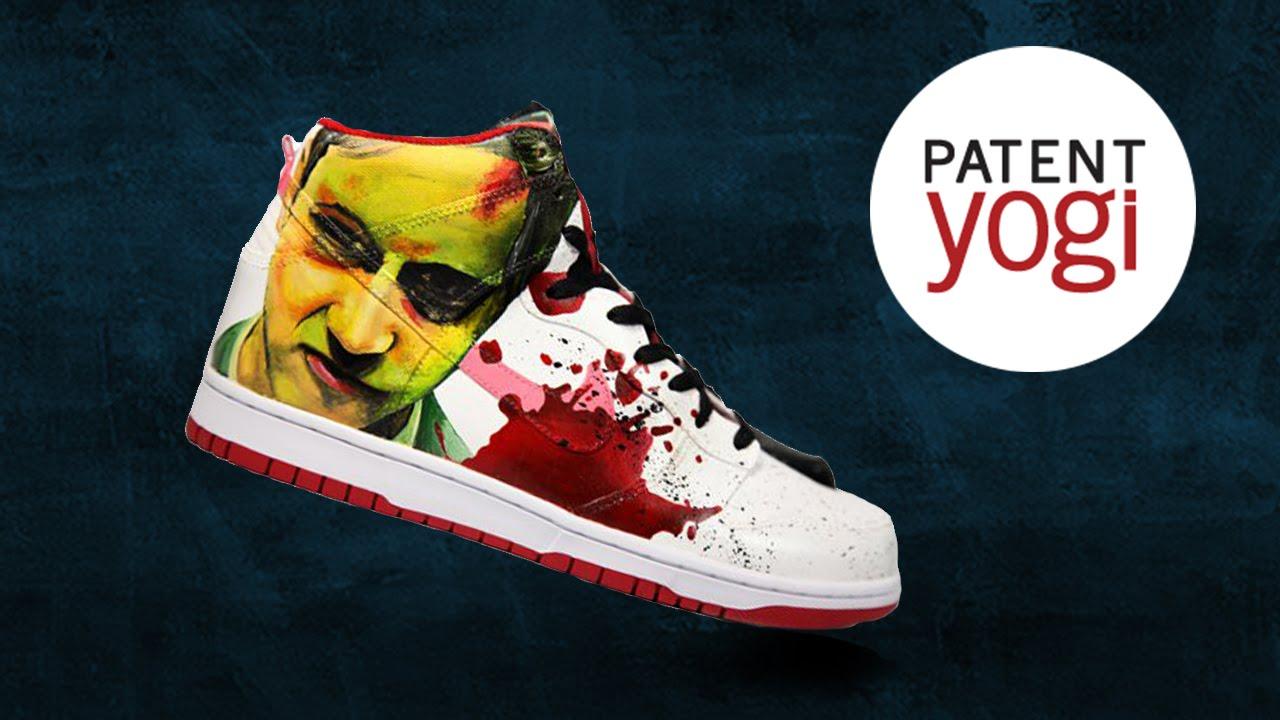 Custom design your Nikes | PatentYogi