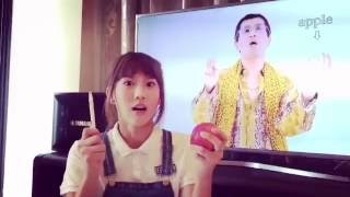 Repeat youtube video JoyceChu四葉草版 PPAP Pen-Pineapple-Apple-Pen