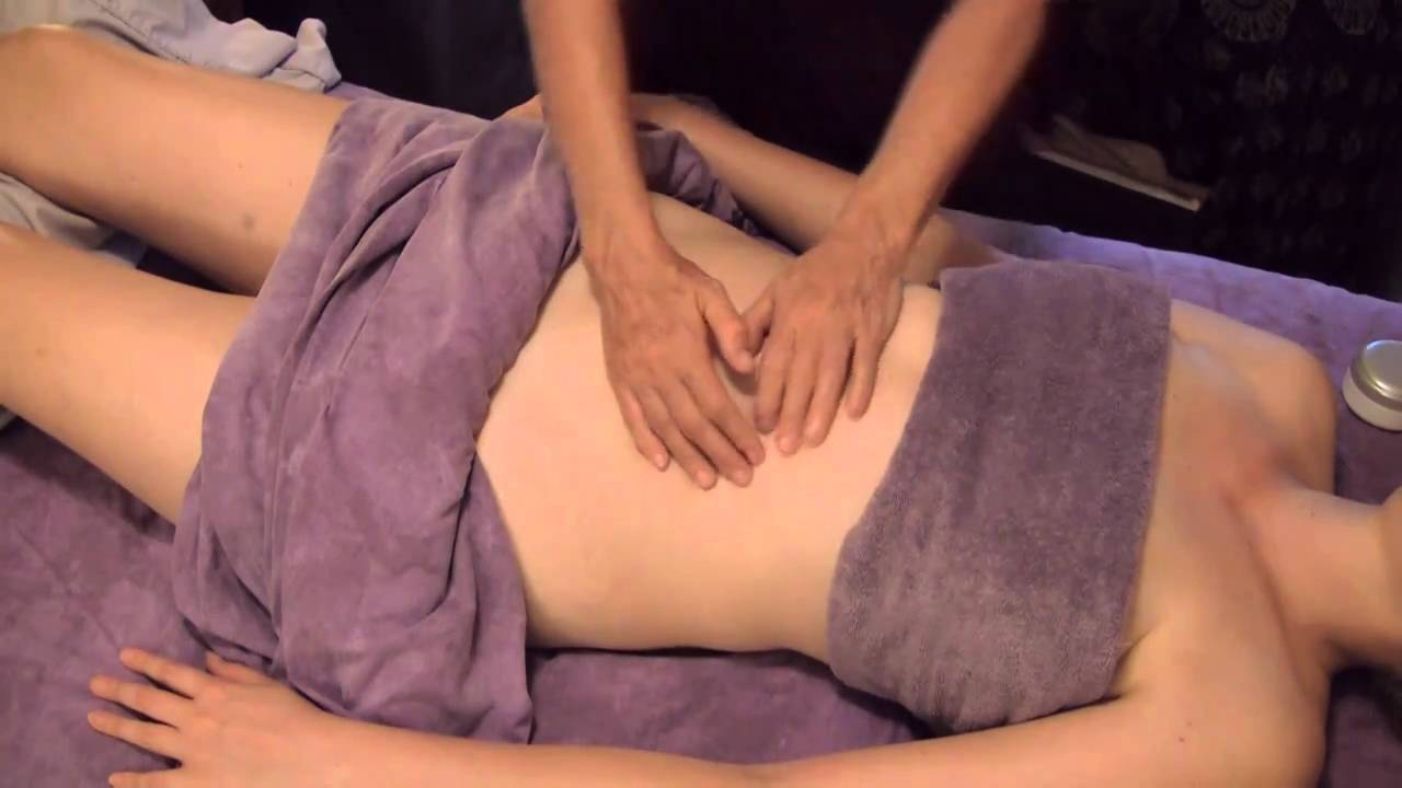 Tummy Or Abdominal Massage Full Body Massage Therapy Techniques 9 Youtube