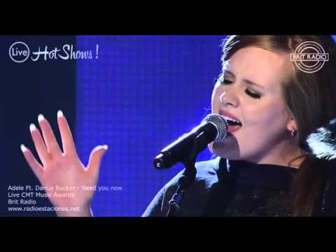 Adele & Darius Rucker - Need you now (Live Show)