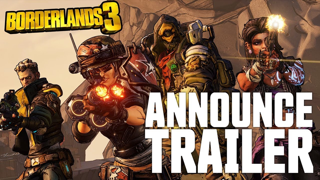 Borderlands 3 gameplay trailer confirms Epic launch date