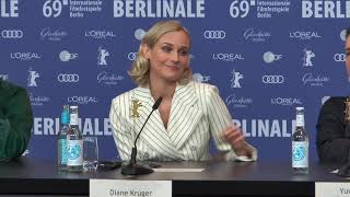 """Diane Kruger In A Spy Movie """"The Operative"""" Berlinale 2019"""
