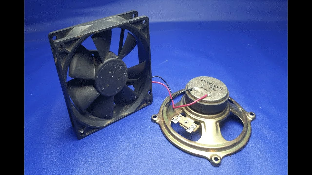 2d5ef73af08 free energy Speaker Magnets With fan 100% - YouTube