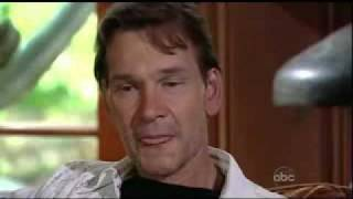 Patrick Swayze (cancer) on Barbara Walters Special