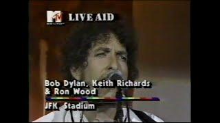 Bob Dylan, Keith Richards & Ron Wood - Ballad Of Hollis Brown (MTV (Live Aid 7/13/1985)