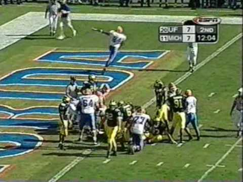 2003 Outback Bowl: Michigan-38 Florida-30 (PART 1)
