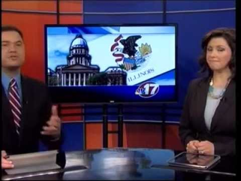 Springfield NBC 6pm: Raise Illinois Rallies at State Capitol; Bruce Rauner Makes Appearance