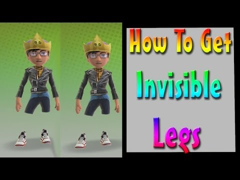 How To Get Invisible Legs For Your Avatar!
