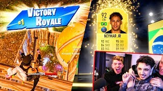 MOST INSANE FIFA 19 FORTNITE PACK OPENING YOU WILL SEE