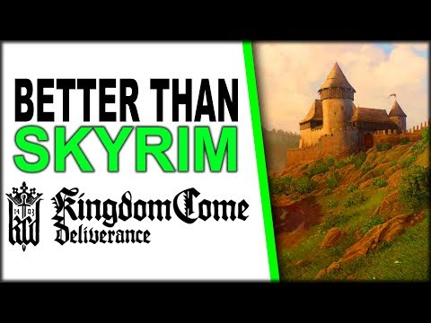 Kingdom Come: Deliverance is BETTER THAN SKYRIM - 4K 60 FPS