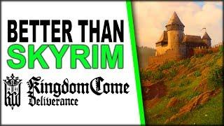 Kingdom Come: Deliverance is BETTER THAN SKYRIM - 4K 60 FPS