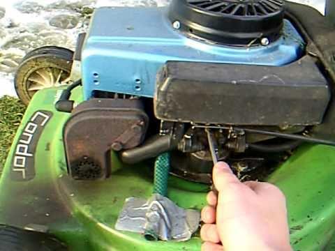 Cold Start And Adjusting The Carburetor Of A Tecumseh Bvs