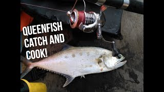 Pancing ikan talang Lukut Port Dickson (catch and cook queenfish with subtitles)