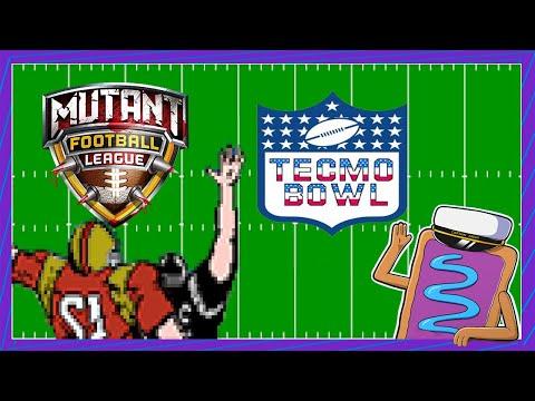Battle of the Sludge Bay | Mutant Football League & Tecmo Bowl |