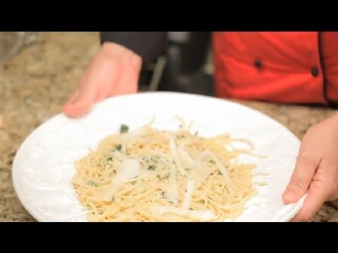 Pasta With Olive Oil, Garlic & White Wine : California Cooking