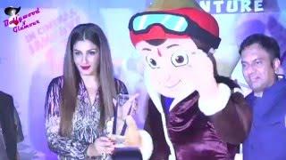 Raveena Tandon & Rajiv Chilaka at the  'Mighty Mom Awards' on Behalf of 'Chhota Bheem'
