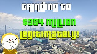 GTA Grinding To $354 Million Legitimately And Helping Subs
