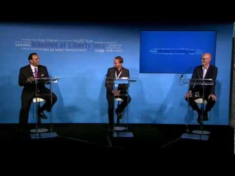 Internet at Liberty 2012: Plenary II -  Riz Khan, Gary Fowlie, Ben Wagner