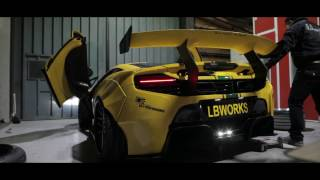 Liberty Walk LB WORKS Mclaren 650S by 3SDM