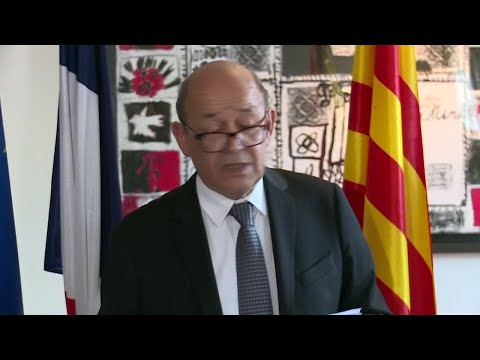 "France FM Le Drian on Barcelona Attack: ""28 French people were injured, 8 in serious condition"""
