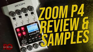 Zoom Podtrak P4 Review and Audio Demo