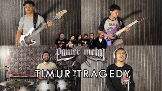 Power Metal - Timur Tragedi | METAL COVER by Sanca Records