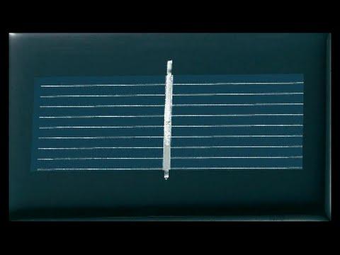 Solar Leuchte - einfach - auto. an-und abschalten - YouTube