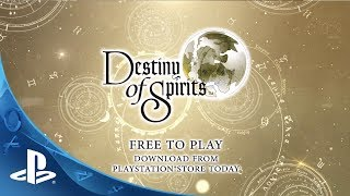 Destiny Of Spirits Launch Trailer (ps Vita)