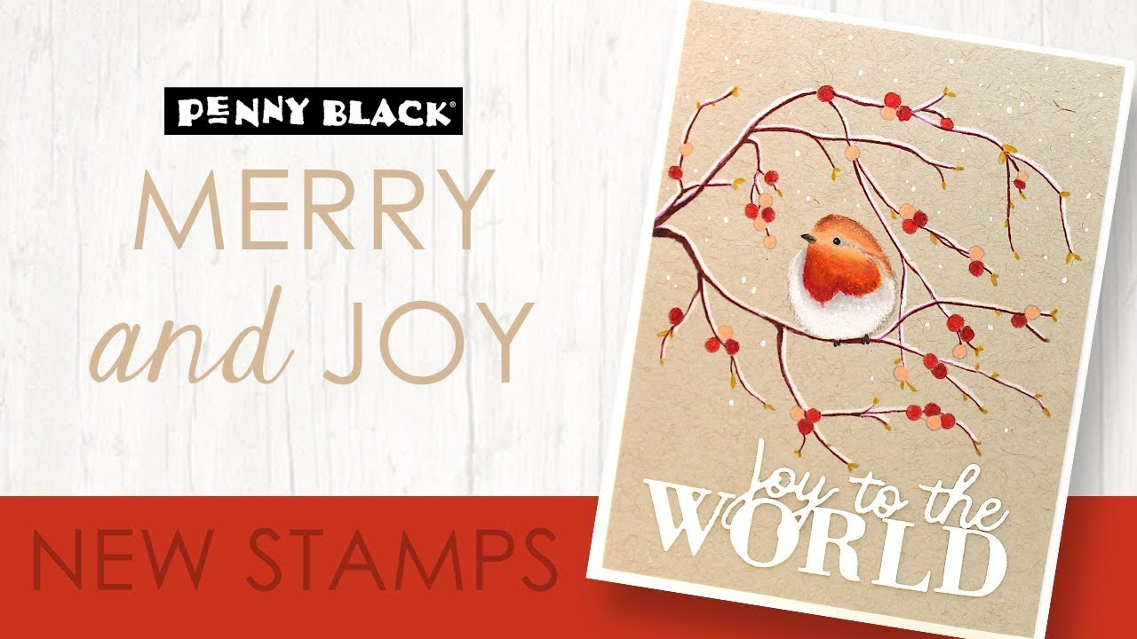 A Closer Look at MERRY & JOY 2019 | Stamps